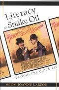 Literacy as Snake Oil (New Literacies and Digital Epistemologies)