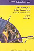 Challenge of Urban Government Policies and Practices