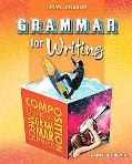 Grammar for Writing 5th Course, Level Orange Grade 10