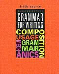 Grammar for Writing, 5th Course