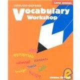 Vocabulary Workshop, Level Orange
