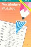 Vocabulary Workshop: Enhanced Edition Level E