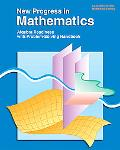 New Progress in Mathematics An Innovative Approach Including Two Options  Pre-Algegra, Algebra