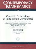 Operads:Proceedings of Renaissance Conferences Special Session and International Conference ...