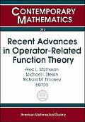 Recent Advances in Operator-related Function Theory Conference on Recent Advances in Operato...