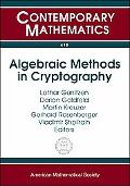 Algebraic Methods in Cryptography AMS/DMV Joint International Meeting, June 16-19, 2005, Mai...