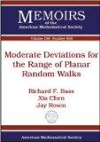 Moderate Deviations for the Range of Planar Random Walks (Memoirs of the American Mathematic...