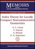 Index Theory for Locally Compact Noncommutative Geometries