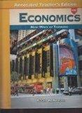 Economics New Ways of Thinking Annotated Teacher's Edition