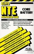 Cliffs NTE Core Battery Preparation Guide (National Teacher Examinations)