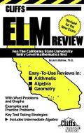Entry Level Mathematics Review California - Jerry Bobrow - Paperback