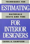 Estimating for Interior Designers