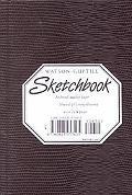 Watson-Guptill Sketchbook/Burgundy Small Pellaq