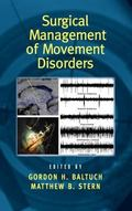 Surgical Management of Movement Disorders