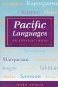 Pacific Languages An Introduction