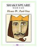 Shakespeare Made Easy Henry 4th grades 7-9