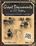 Great Documents in U.s. History The Age of Reform to the Present Day (1880-2001)