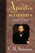 Apuntes De Sermones Spurgeon's Sermon Notes