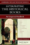 Interpreting the Historical Books An Exegetical Handbook