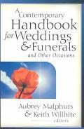 Contemporary Handbook for Weddings & Funerals