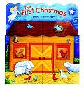The First Christmas: A Book and Playset