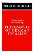 Philosophy of German Idealism