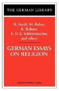 German Essays on Religion