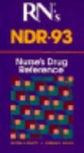 RN Magazines' Ndr-'93 (Nurses Drug Reference) - George Spratto - Paperback