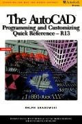 Autocad Programming and Customizing Quick Reference
