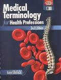 Medical Terminology for Health Professions (Book with 2 Audio Cassettes)