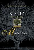 Nvi Biblia Misionera Imit Negro Indice - Zondervan Publishing House - Hardcover