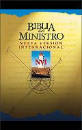 Nvi Biblia Del Ministro Ultrafina-Letra Roja