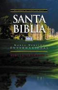 NVI Biblia Ultrafina: Nueva Version Internacional, piel legitima negro