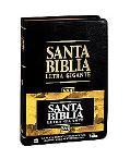 NVI Biblia Letra Gigante: Nueva Version Internacional, tela negro, indice