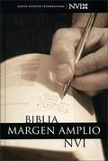 NVI Biblia Margen Amplio - Zondervan Publishing - Hardcover - Spanish-language Edition