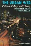The Urban Web: Politics, Policy, and Theory (Nelson-Hall Series in Political Science)