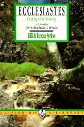 Ecclesiastes: Chasing after Meaning - Bill Syrios - Paperback