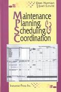 Maintenance Planning, Scheduling, and Coordination