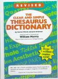 Clear and Simple Thesaurus Dictionary