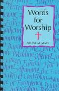 Words for Worship