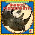 Rhinos: Rinocerontes