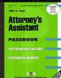 Attorney's Assistant(Passbooks)