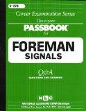Foreman (Signals)(Passbooks) (Career Examination Series : C-276)