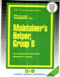 Maintainer's Helper, Group B(Passbooks) (C-466)