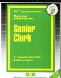 Senior Clerk