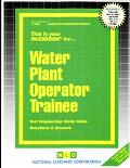 Water Plant Operator Trainee