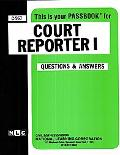 Court Reporter I