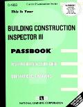Building Construction Inspector III