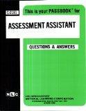 Assessment Assistant(Passbooks) (Passbook for Career Opportunities)