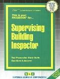 Supervising Building Inspector (Career Examination Passbooks)